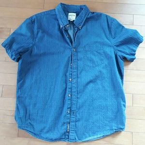American Eagle Premium Indigo Shirt